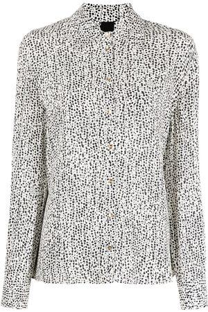 Pinko Giraffe print blouse - Neutrals