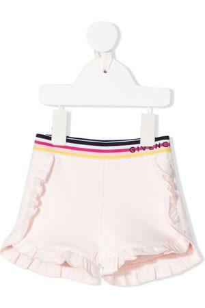 Givenchy Ruffle-embellshed shorts