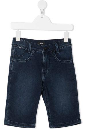 HUGO BOSS Boys Bermudas - Denim Bermuda shorts