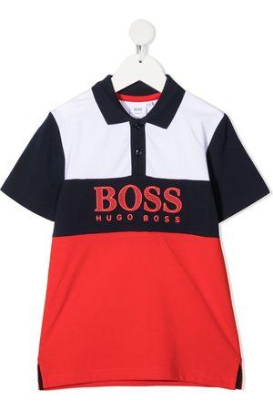 HUGO BOSS Colour-block polo shirt
