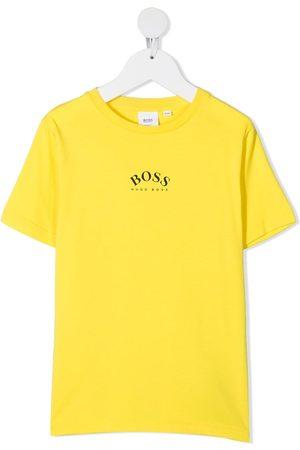 HUGO BOSS Logo-print round neck T-shirt