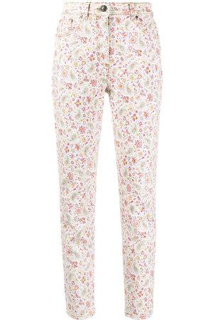 Etro Women Skinny - Floral-print skinny jeans