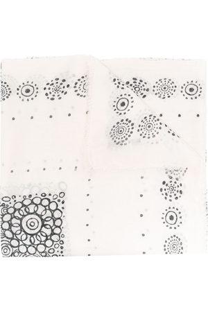 10 CORSO COMO Geometric print scarf - Neutrals