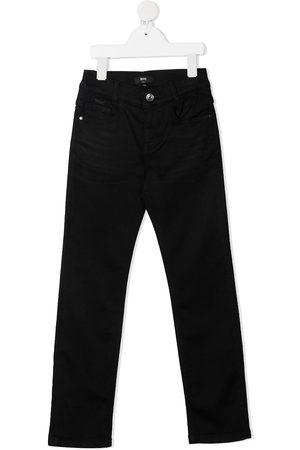 HUGO BOSS Straight-leg denim trousers