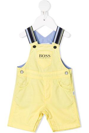 HUGO BOSS Baby Rompers - Logo-print salopettes