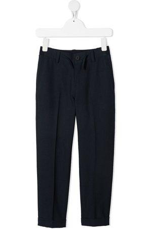 HUGO BOSS Drawstring straight-leg trousers