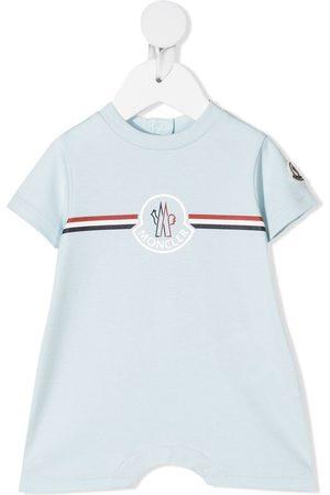 Moncler Baby Rompers - Logo-print shorties