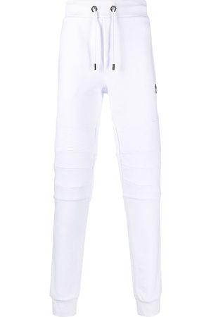 Philipp Plein Panelled skinny-fit track pants