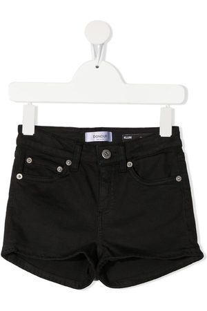 DONDUP KIDS Girls Shorts - Klum tassel hem denim shorts