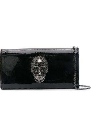 Philipp Plein Mini crystal skull shoulder bag