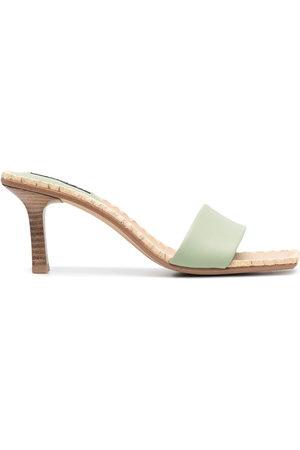 SENSO Square open-toe mules
