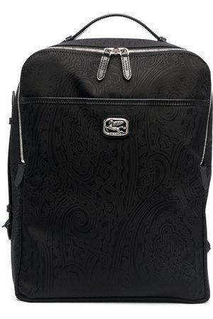 Etro Men Rucksacks - Paisley-print backpack