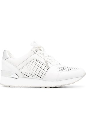 Michael Kors Perforated-pattern trainers
