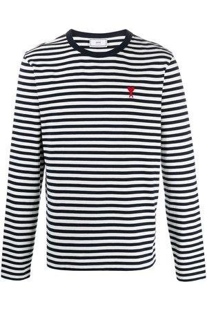 Ami Ami de Coeur striped longsleeve T-shirt