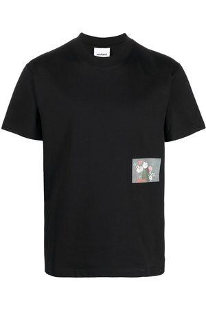 Soulland Men T-shirts - Flower organic cotton T-shirt