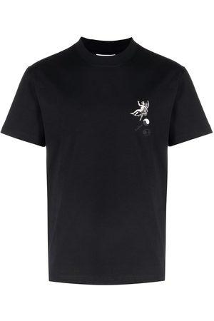 Soulland Men T-shirts - Zodiac crew-neck T-shirt