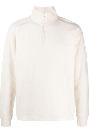 Soulland Men Sweatshirts - Zipped-neck jumper - Neutrals