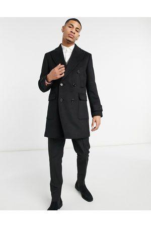 Harry Brown Wool blend overcoat in
