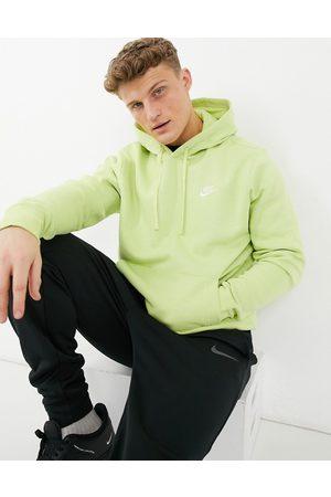 Nike Club hoodie in lime