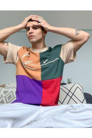 Karl Kani Signature block t-shirt in multi