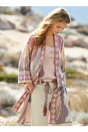 Peruvian Connection Dreamscape Pima Cotton Kimono