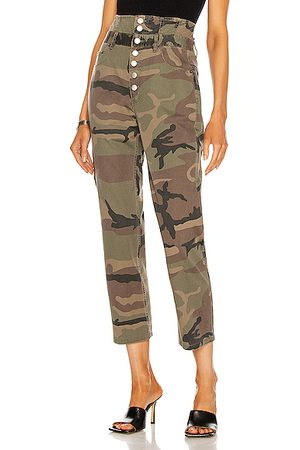 Marissa Webb Turner Vintage Washed Camo Pant in Green