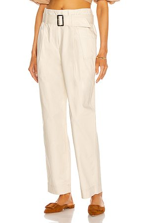 JONATHAN SIMKHAI Andie Trench Pant in Neutral