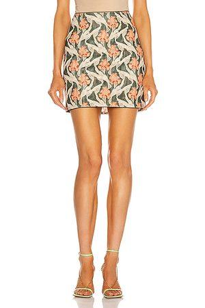 Miaou Women Mini Skirts - Mini Moni Skirt in Green