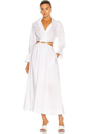 JONATHAN SIMKHAI Alex Shirt Dress in