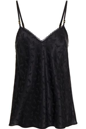 Stella McCartney Woman Gloria Sprinting Silk-blend Satin-jacquard Camisole Size M