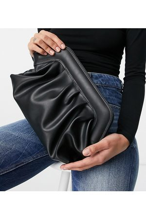 Glamorous Exclusive slouchy pillow clutch bag in with padded frame