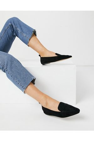 ASOS Miley suede loafers in