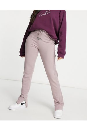 The Couture Club Set rib sweatpants in mink