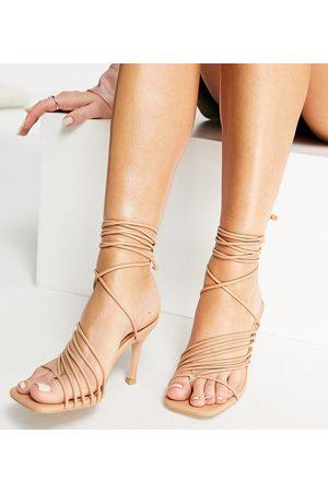 Public Desire Super strappy heeled sandals in