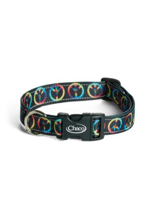 Chaco Dog Collars Peace Sign, Size L