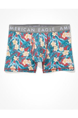 """American Eagle Outfitters O Floral 4.5"""" Classic Boxer Brief Men's XS"""