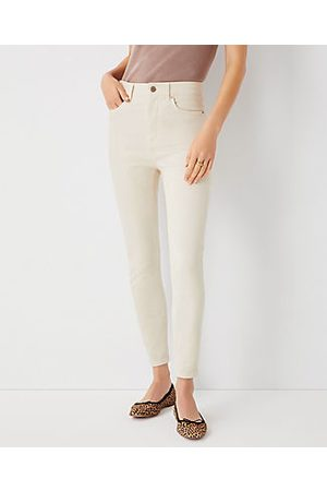 ANN TAYLOR Sculpting Pocket Highest Rise Skinny Jeans