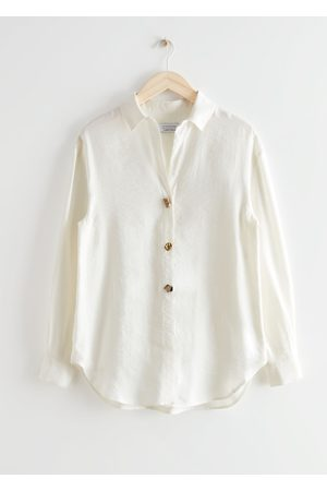 & OTHER STORIES Oversized Mismatched Button Shirt
