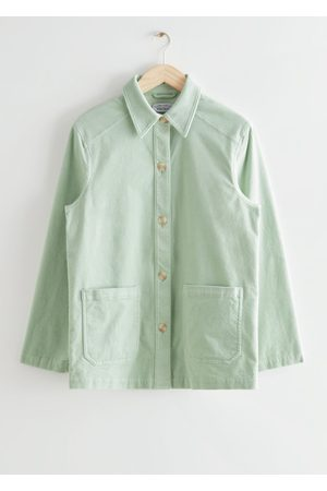 & OTHER STORIES Relaxed Patch Pocket Denim Jacket