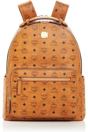 MCM Stark Visetos Logo Monogram Backpack