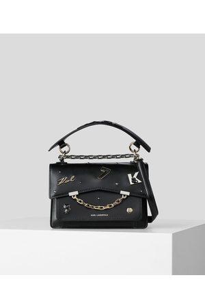 Karl Lagerfeld K/KARL SEVEN METAL PINS SHOULDER BAG