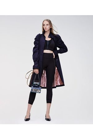 Karl Lagerfeld DRAPED TRENCH COAT