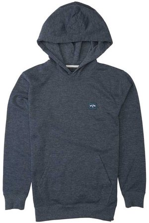 Billabong Boys Hoodies - All Day Po 12 Years Navy