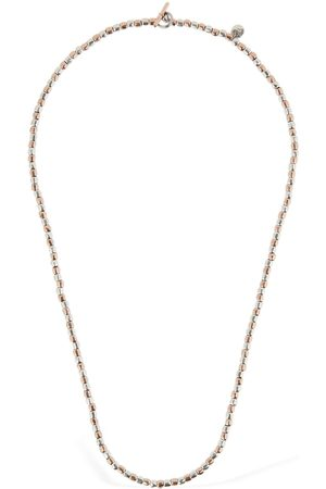 Dodo 9kt Granelli Two Tone Chain Necklace