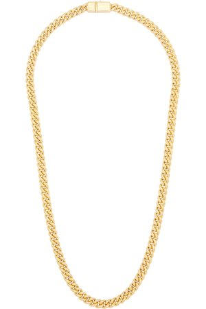 TOM WOOD Men Necklaces - Curb 9kt -plated chain necklace