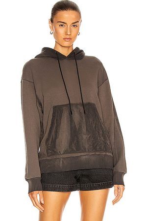 Cotton Citizen Women Hoodies - Brooklyn Oversized Hoodie in Charcoal