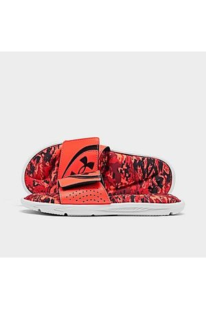 Under Armour Sandals - Big Kids' UA Ignite V1 Strk PW Slide Sandals in /Orange Size 4.0