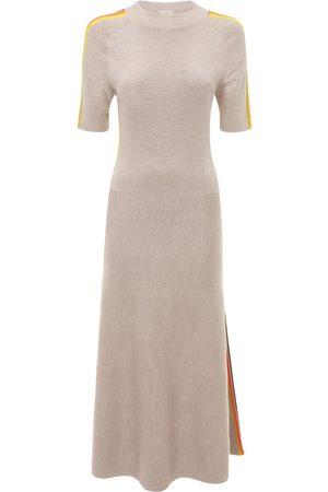 GABRIELA HEARST Women Knitted Dresses - Cashmere & Silk Knit Midi Dress
