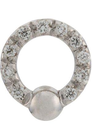 DELFINA DELETTREZ Women Earrings - 18kt white gold Two In One diamond earring