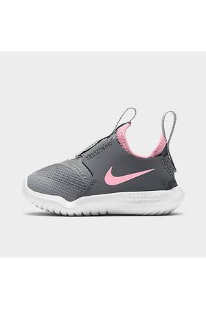 Nike Shoes - Girls' Toddler Flex Runner Running Shoes in Grey/ Light Smoke Grey Size 4.0 Leather